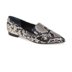 Mark Fisher LTD Zurri Loafer Flat Snakeskin Size 7